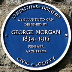 George Morgan Plaque