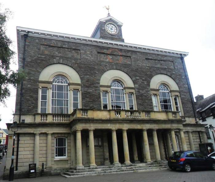 Guildhall, Carmarthen