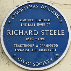 Richard Steele Plaque